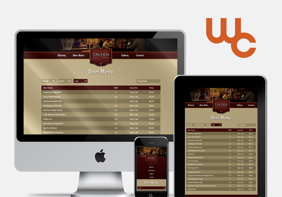 A great web design by Windy City Digital, Chicago, IL: