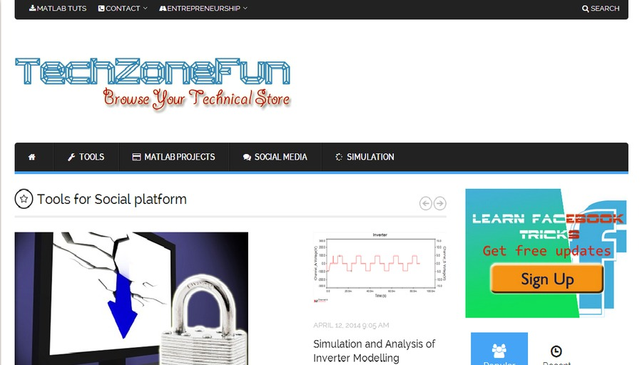 A great web design by TechZoneFun, Dallas, TX: