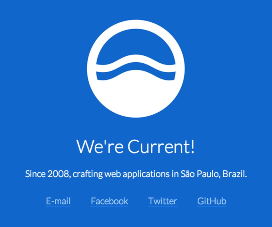 A great web design by Current, Sao Paulo, Brazil: Website, Portfolio , Internet , Static HTML