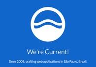 A great web design by Current, Sao Paulo, Brazil: Website, Portfolio , Internet , Static HTML