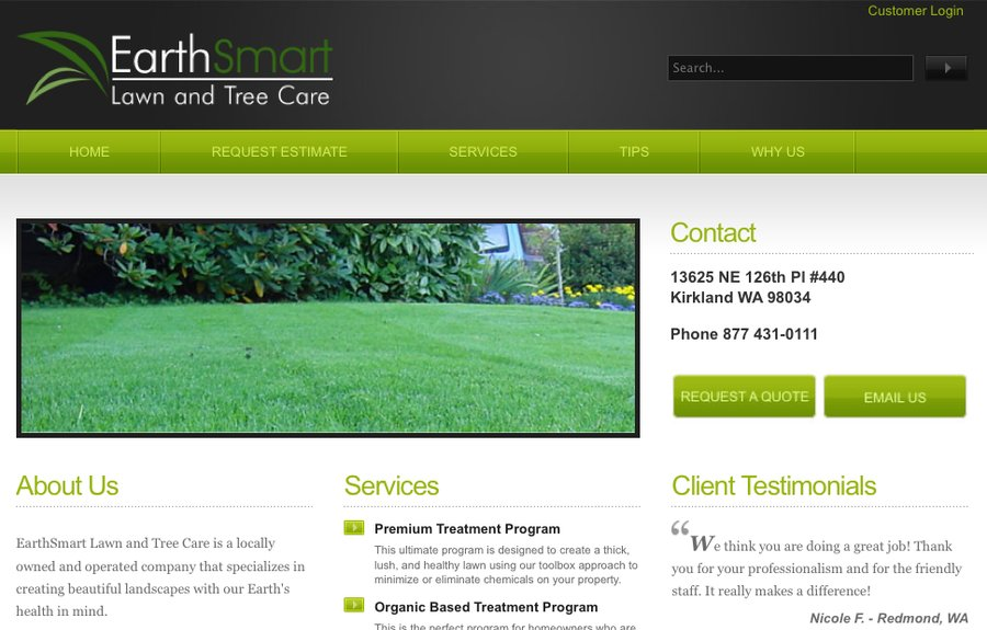A great web design by m2volt, Seattle, WA: