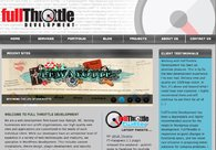 A great web design by FullThrottle Development, LLC, Raleigh, NC: