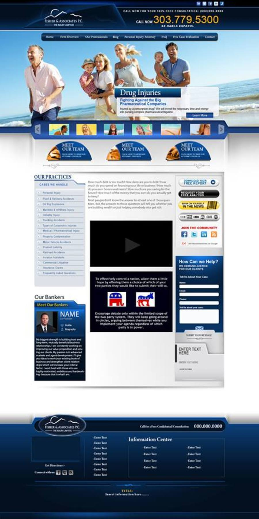 A great web design by Pro Design Webs, Denver, CO: