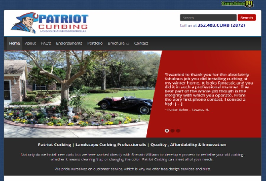A great web design by Shamrock Web Concepts, Toledo, OH: Website, Other, Other, Wordpress