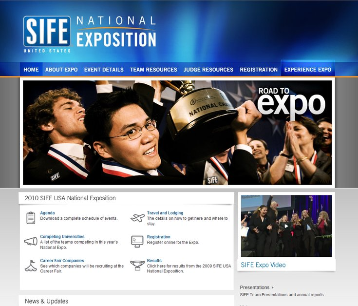 A great web design by Freshline Design, Springfield, MO: