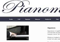 A great web design by www.pianomusic.dk, Lyngby, Denmark: