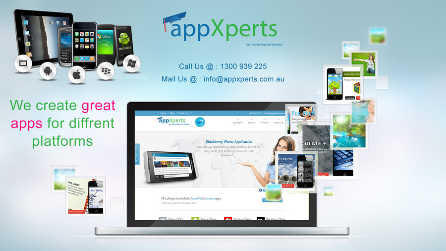 A great web design by App Xperts Pty. Ltd., Melbourne, Australia: