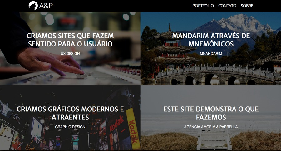 A great web design by Agência Amorim & Parrella, Curitiba, Brazil: Website, Portfolio , Internet , Design Only