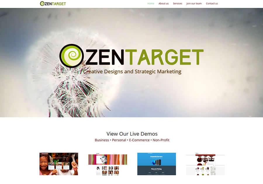A great web design by ZenTarget Marketing, San Jose, CA: