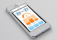 A great web design by Synergy, Seattle, WA: Mobile App , Social/Community , Healthcare, iOS (Objective-C)
