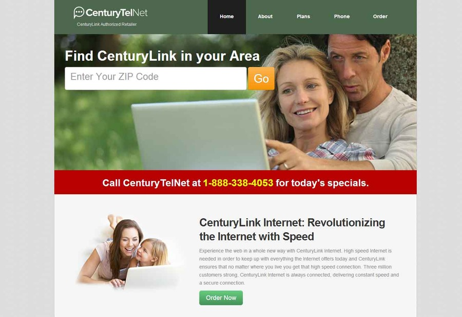 A great web design by Century Link Internet, Chicago, IL: