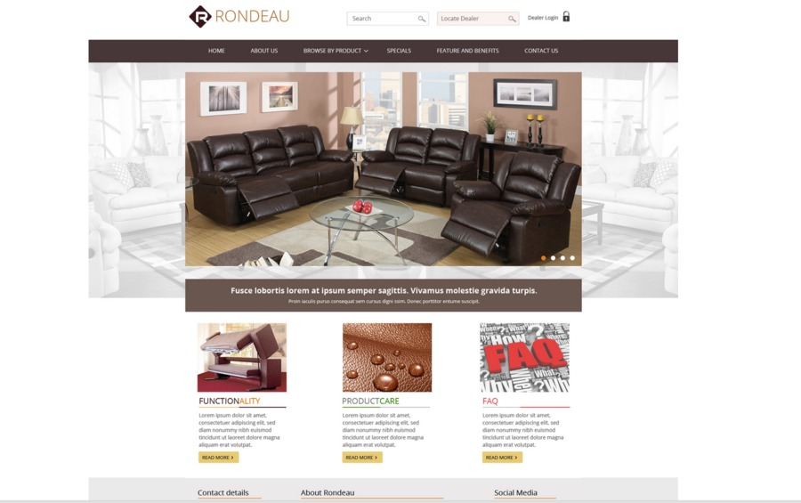 A great web design by Pulse Wave Media, Calgary, Canada: