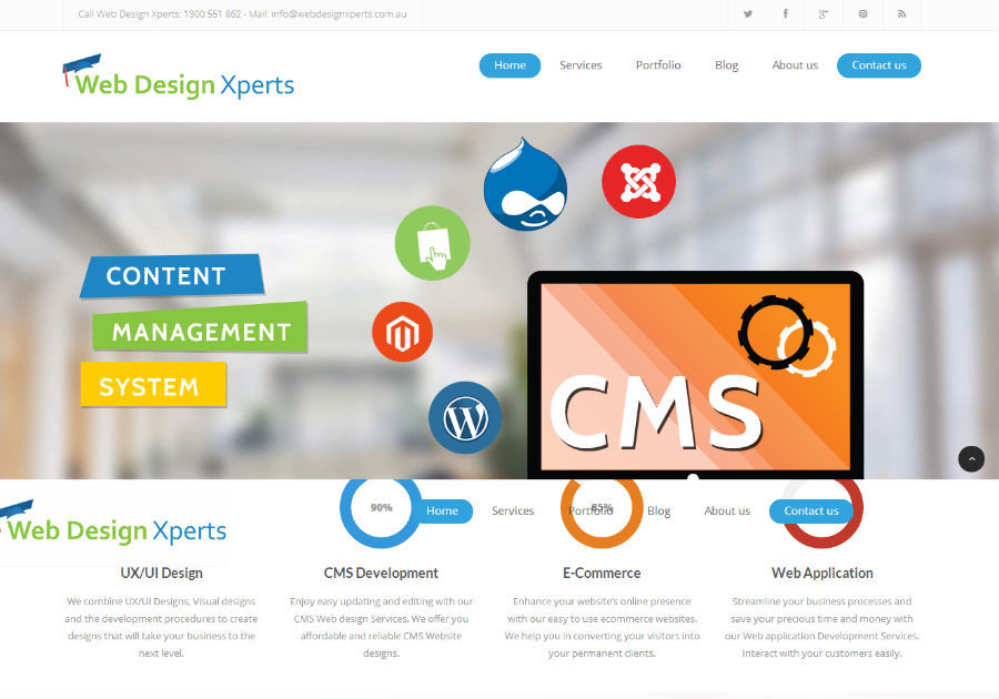 A great web design by Web Design Xperts, Melbourne, Australia: