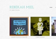 A great web design by Rebekah Miel, Durham, NC: