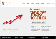 A great web design by Secondpen Technologies, Chennai, India:
