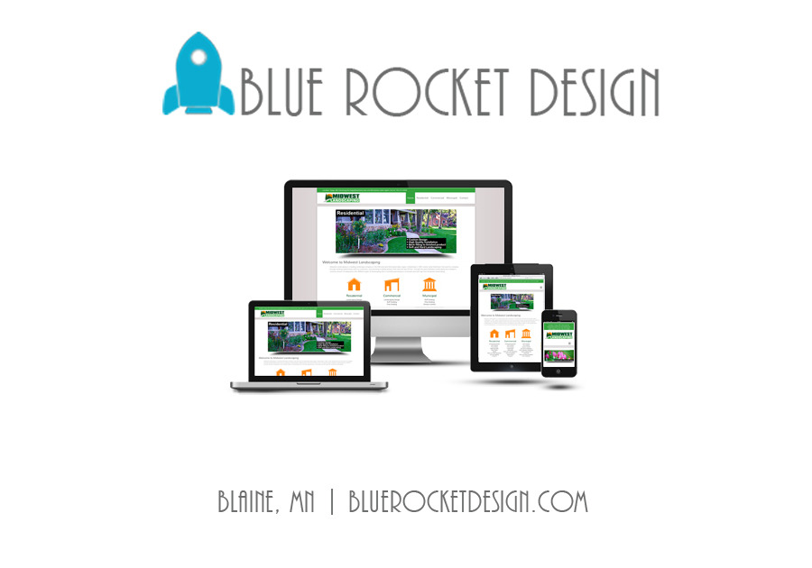 A great web design by Blue Rocket Design, Minneapolis, MN: Responsive Website, Marketing Website , Construction , Wordpress
