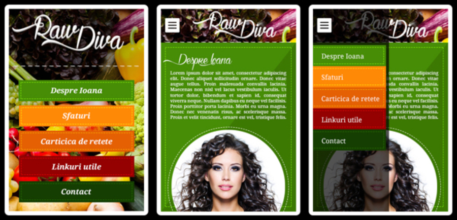 A great web design by Zades graphic, Brasov, Romania: