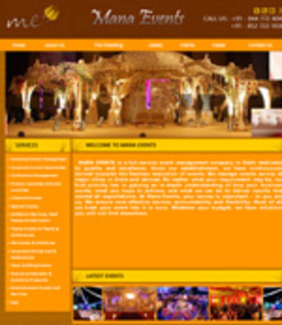 A great web design by Marks Design, New Delhi, India: