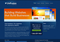 A great web design by Unifusion, Portland, OR: