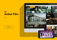 A great web design by Matreshka Media Group, Moscow, Russia: