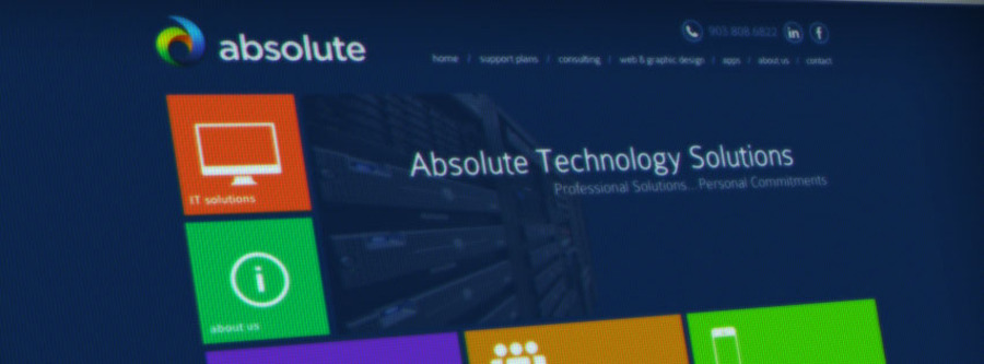 A great web design by Absolute Technology Solutions, Longview, TX: