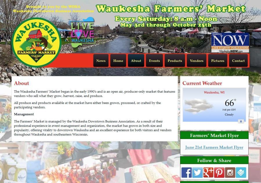 A great web design by Liberty Web Marketing, Waukesha, WI: Responsive Website, Social/Community , Non Profit , Wordpress