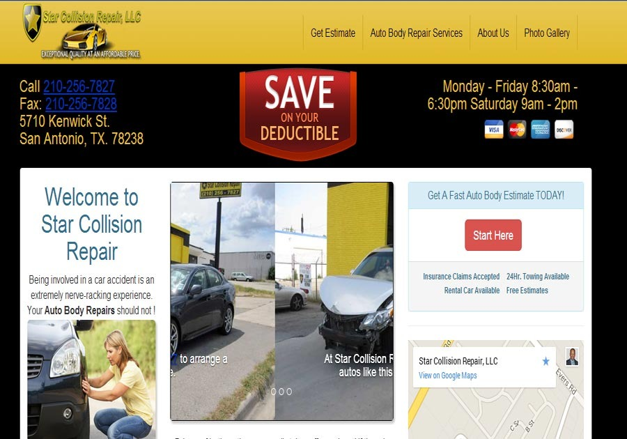 A great web design by Freeman Business Services, San Antonio, TX:
