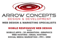 A great web design by Arrow Concepts, Huntsville, AL: