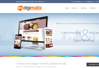 A great web design by Digimatix, Cochin, India: Responsive Website, Portfolio , Software , Static HTML