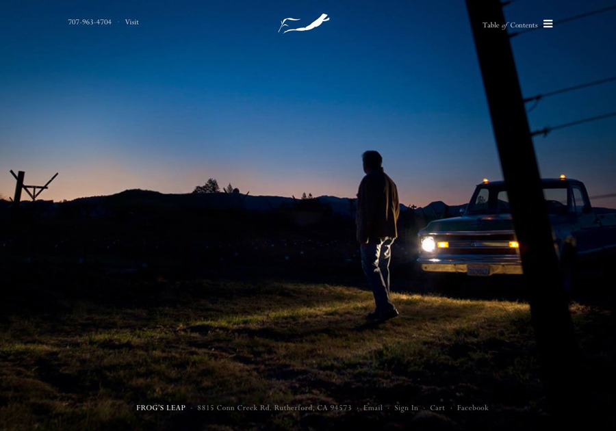 A great web design by Hoffman & Co., San Francisco, CA: