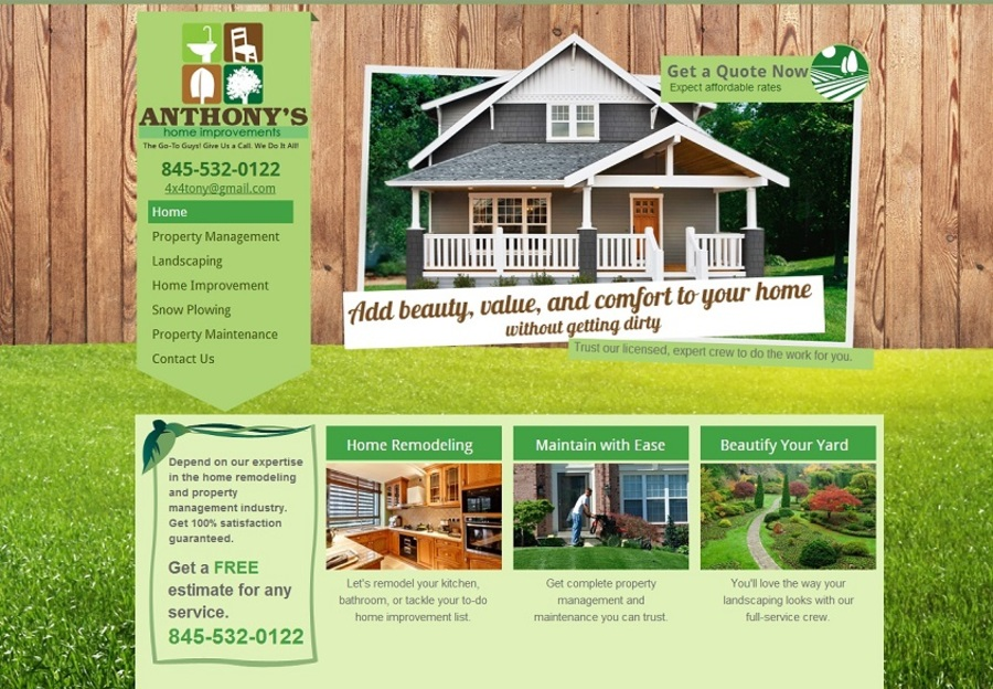 A great web design by Miranda's Marketing - hibu, New York, NY: