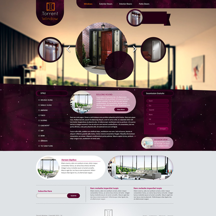 A great web design by Reseau2, Lasalle, Canada: