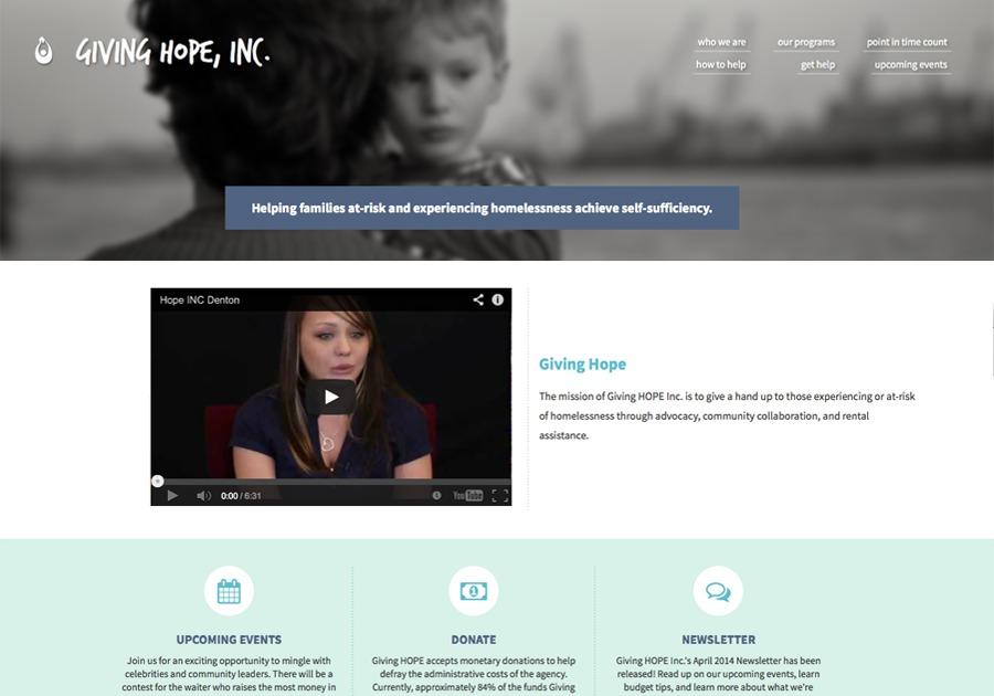 A great web design by Cindy Yu, Dallas, TX: