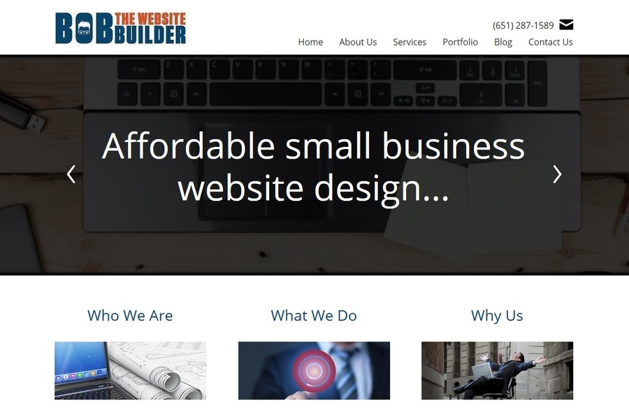 A great web design by Bob The Website Builder, Minneapolis, MN: Website, Portfolio , Marketing , Other
