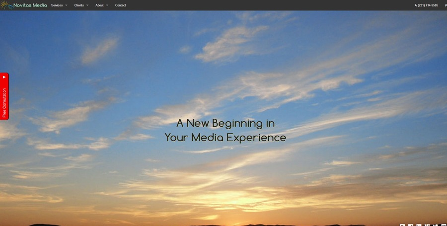 A great web design by Novitas Media, Traverse City, MI: