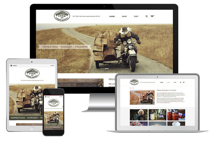 A great web design by Sleepless Media, San Francisco, CA: Responsive Website, E-Commerce , Retail , Other