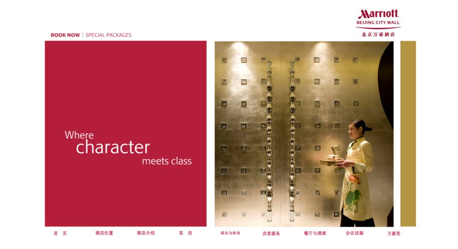 A great web design by China Web Designers, Beijing, China: