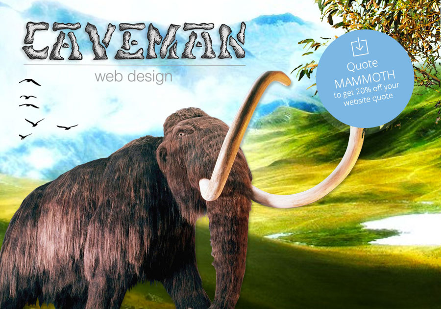 A great web design by Caveman Web Design, Faversham, United Kingdom: