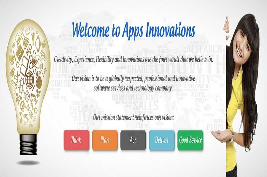 A great web design by Apps Innovations Services Pvt. Ltd, New Delhi, India: