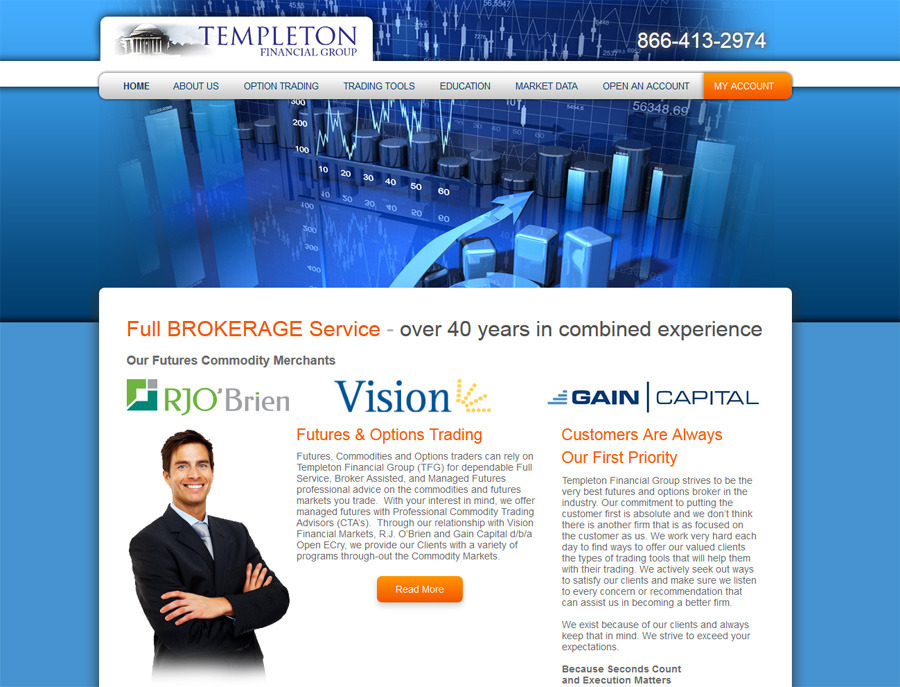 A great web design by Forthought, Inc., West Palm Beach, FL: