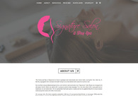 A great web design by BH Designs, Baltimore, MD: