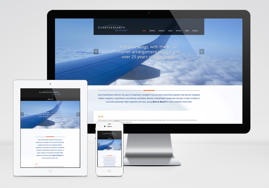 A great web design by Primary Design, Inc., Boston, MA: Responsive Website, Marketing Website , Aerospace , Wordpress