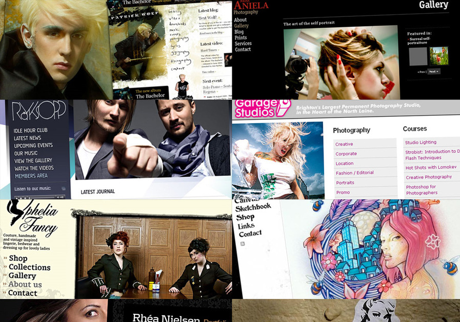 A great web design by Delarge Design, Brighton, United Kingdom:
