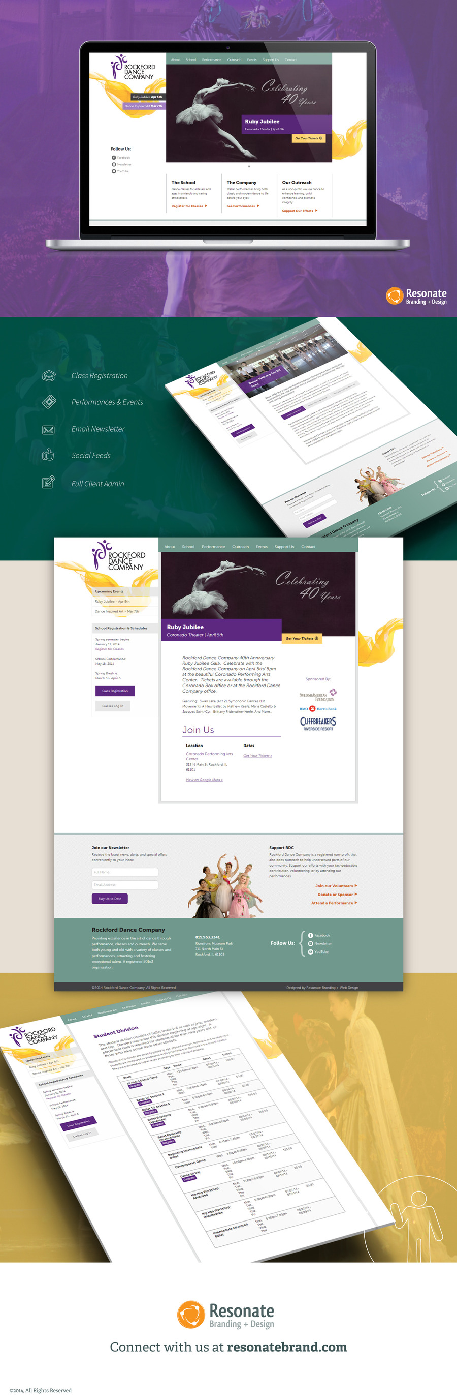 A great web design by Resonate Branding + Web Design, Seattle, WA: Website, Marketing Website , Other, Wordpress