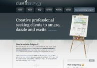 A great web design by Dustin Brewer, Oklahoma City, OK: