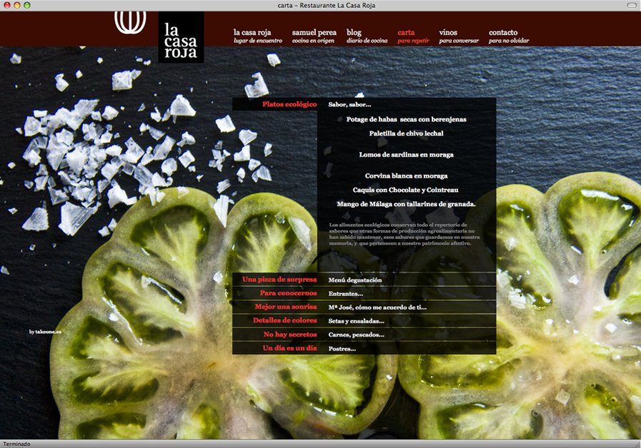 A great web design by THE TAKEONE MOVEMENT, Malaga, Spain: