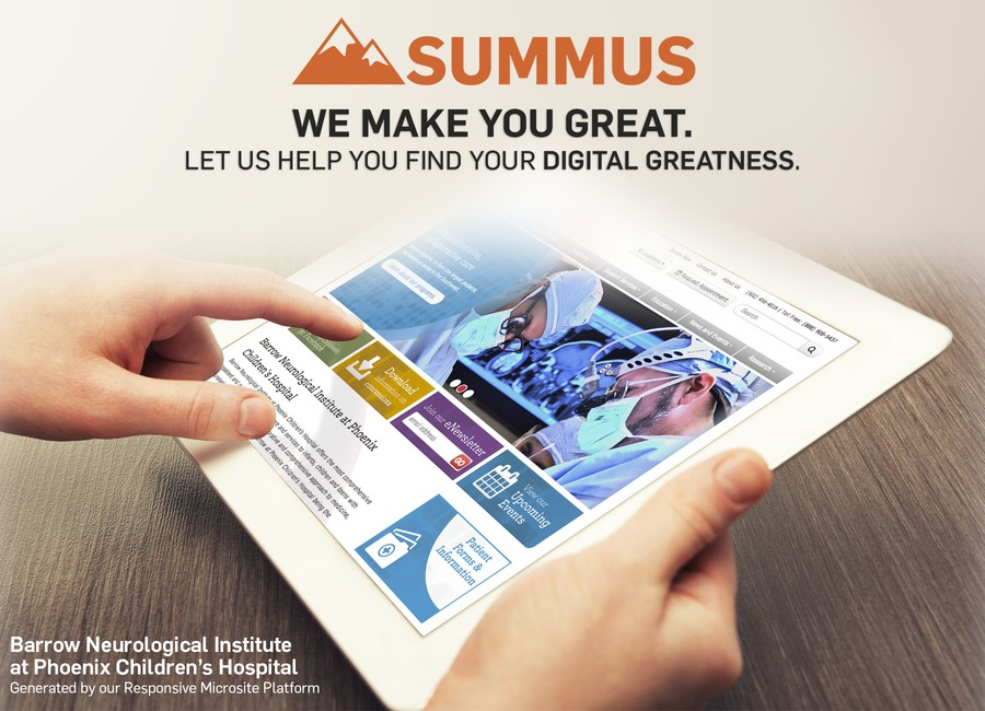 A great web design by SUMMUS, Los Angeles, CA: Responsive Website, Web Application , Healthcare, Drupal