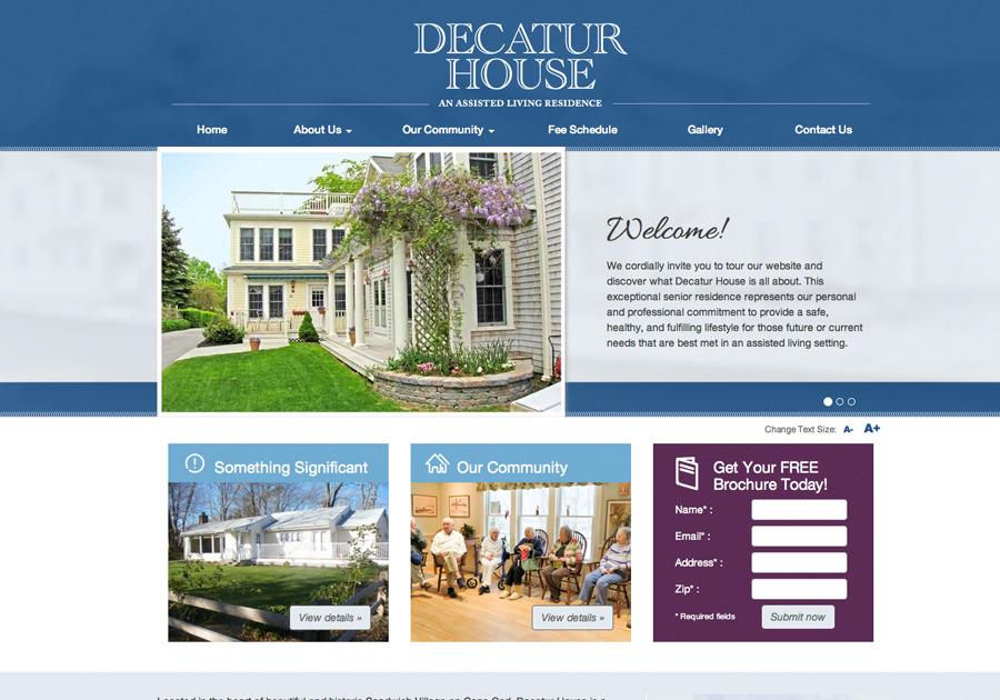 A great web design by Lachance Design, LLC, Boston, MA: