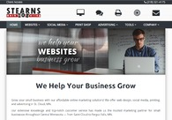 A great web design by Stearns 208 Marketing, St Cloud, MN: