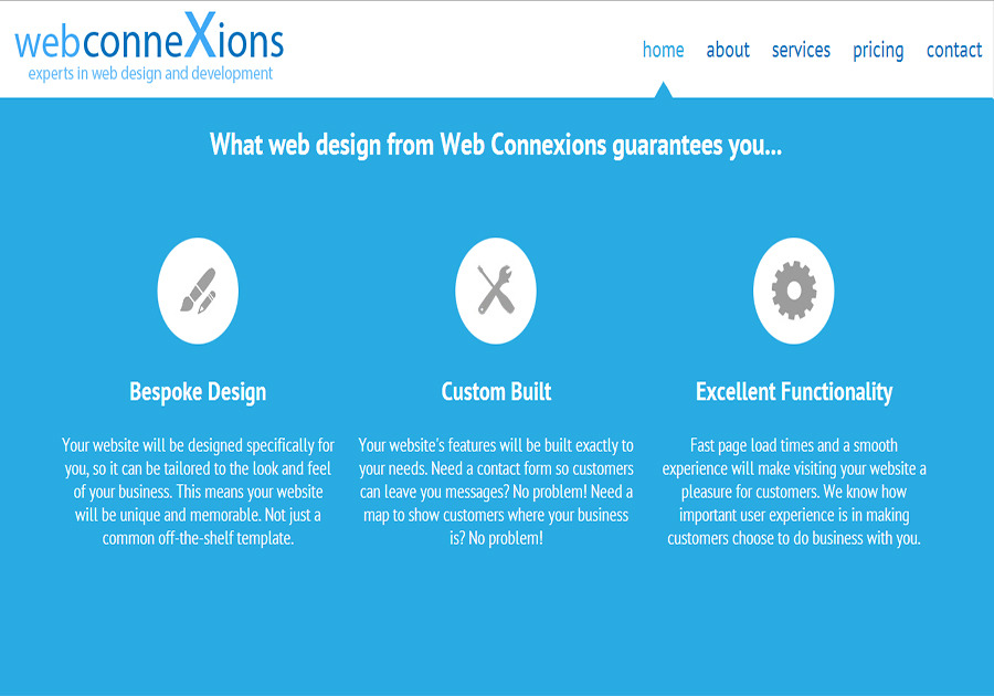 A great web design by Web Connexions, Guildford, United Kingdom: